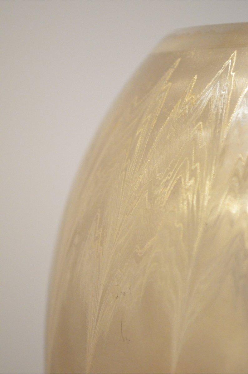 German Art Deco Brushed Metal Ikora Vase from WMF for sale at Pamono