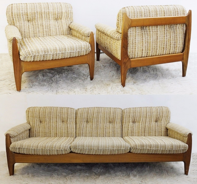 Poltrone e divano, anni \'60 in vendita su Pamono