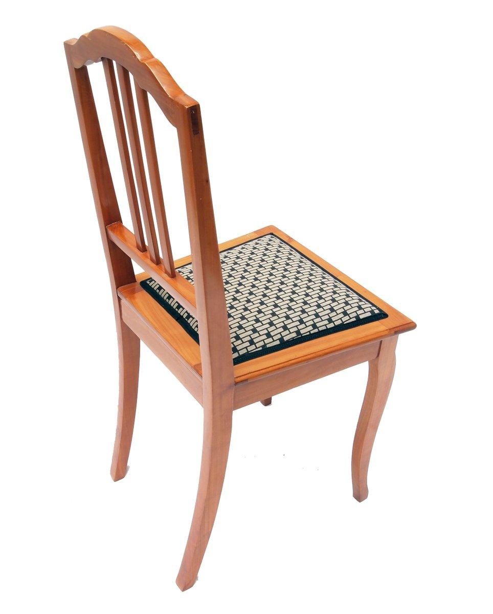 chaise d 39 appoint art d co en merisier en vente sur pamono. Black Bedroom Furniture Sets. Home Design Ideas