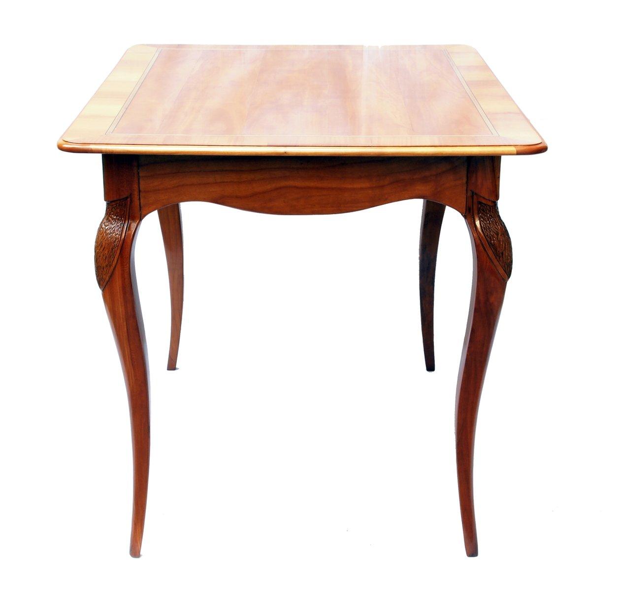 table d 39 appoint art nouveau en merisier en vente sur pamono. Black Bedroom Furniture Sets. Home Design Ideas