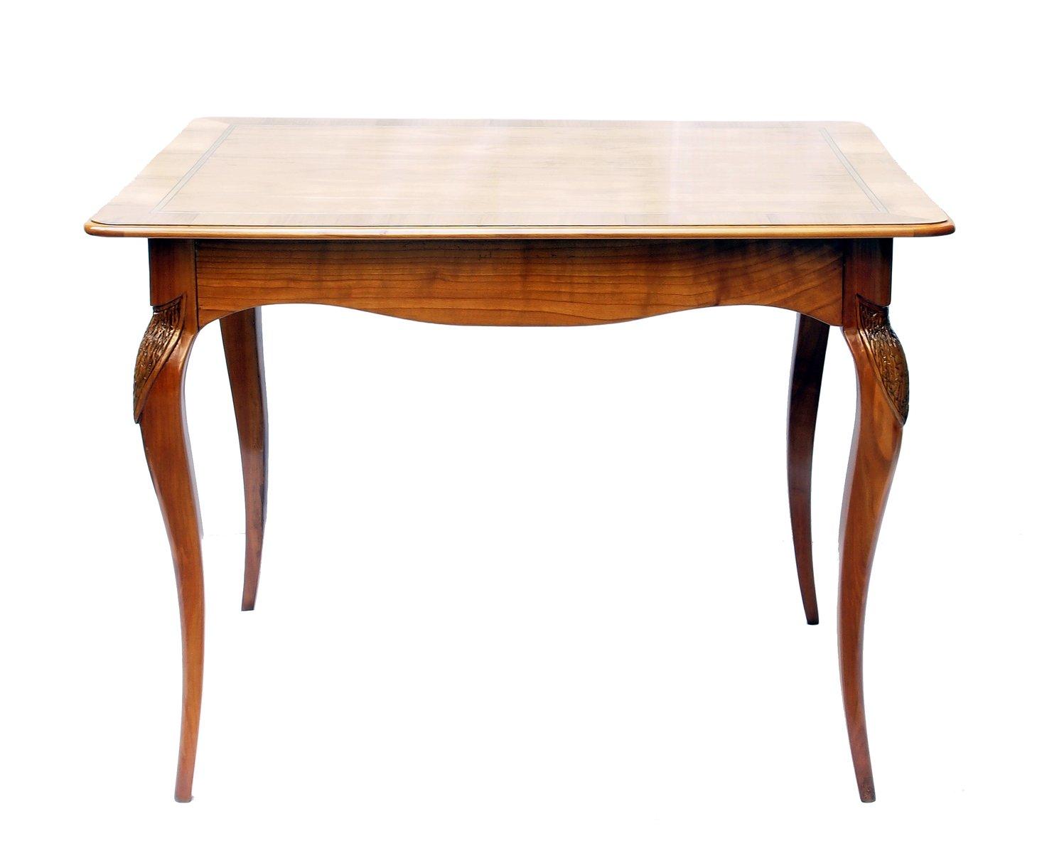 Art Nouveau Cherry Wood Side Table
