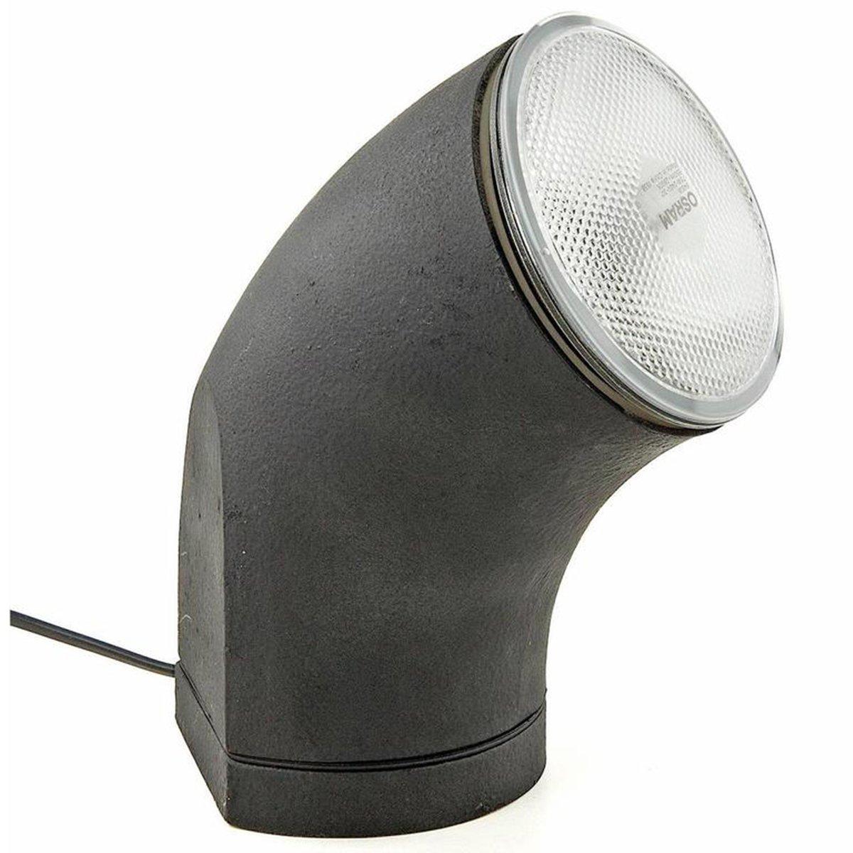 Industrieller Vintage Scheinwerfer/ Tischlampe, 1970er