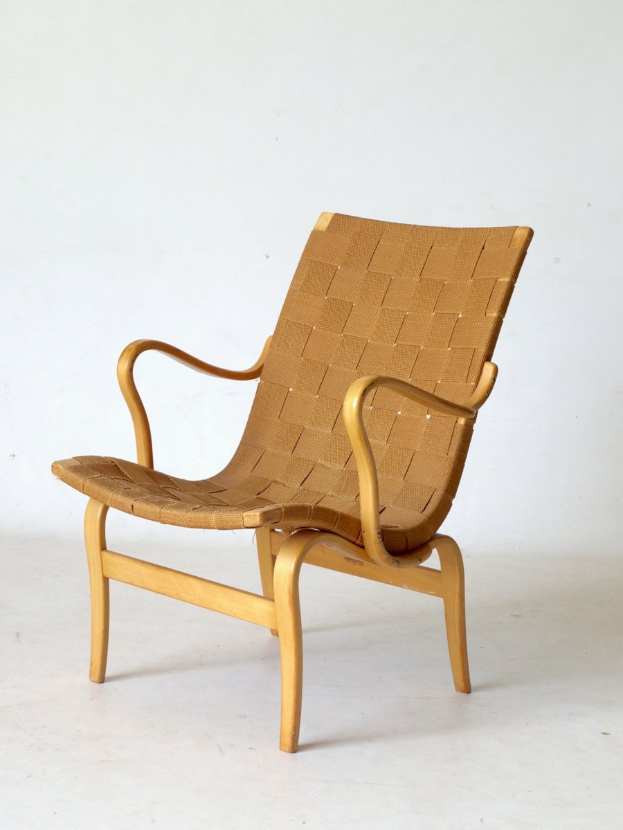 Etonnant Swedish Eva Lounge Chair By Bruno Mathsson For Karl Mathsson, 1960s