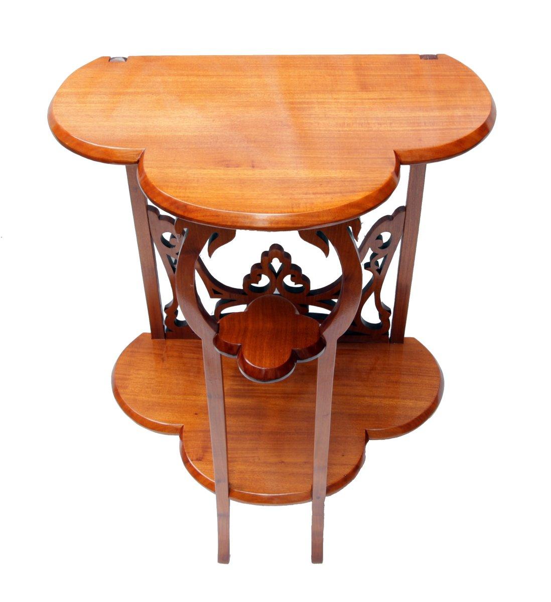 petite table d 39 appoint console vintage en vente sur pamono. Black Bedroom Furniture Sets. Home Design Ideas