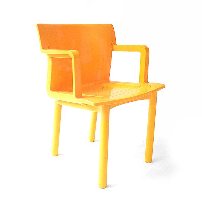 vintage plastik stuhl bei pamono kaufen. Black Bedroom Furniture Sets. Home Design Ideas