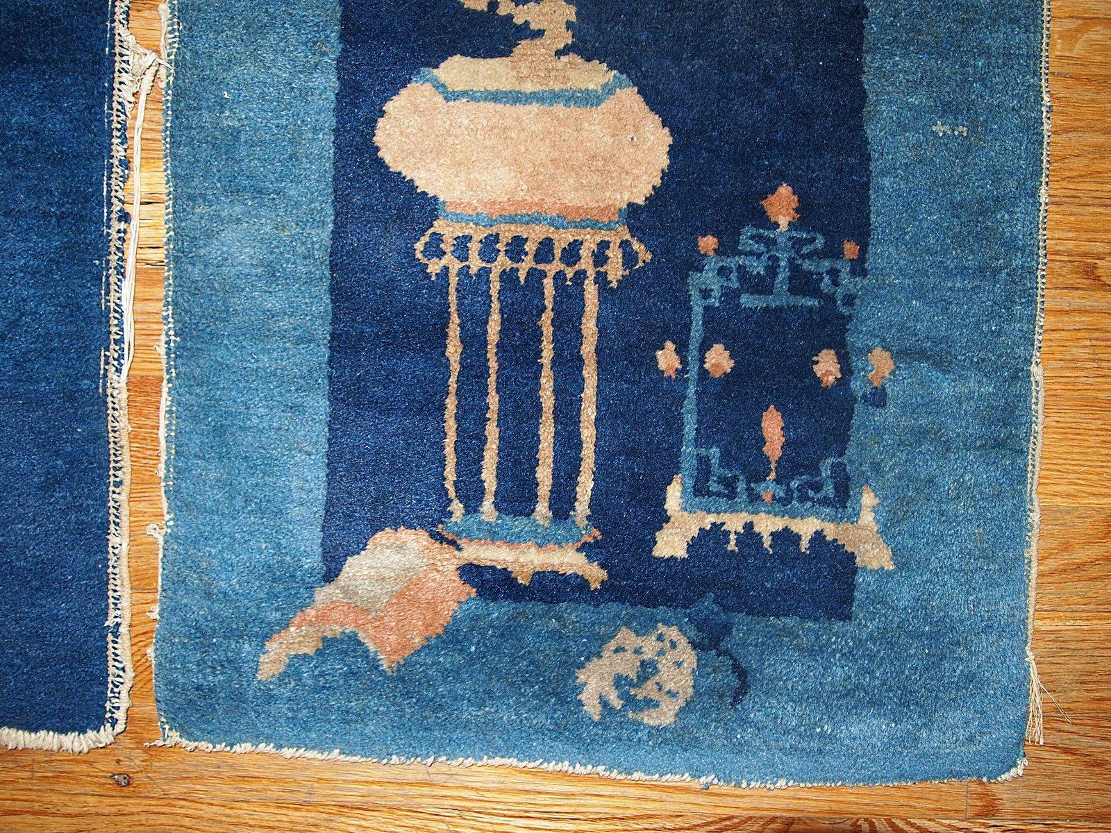alfombras peking chinas antiguas hechas a mano d cada de