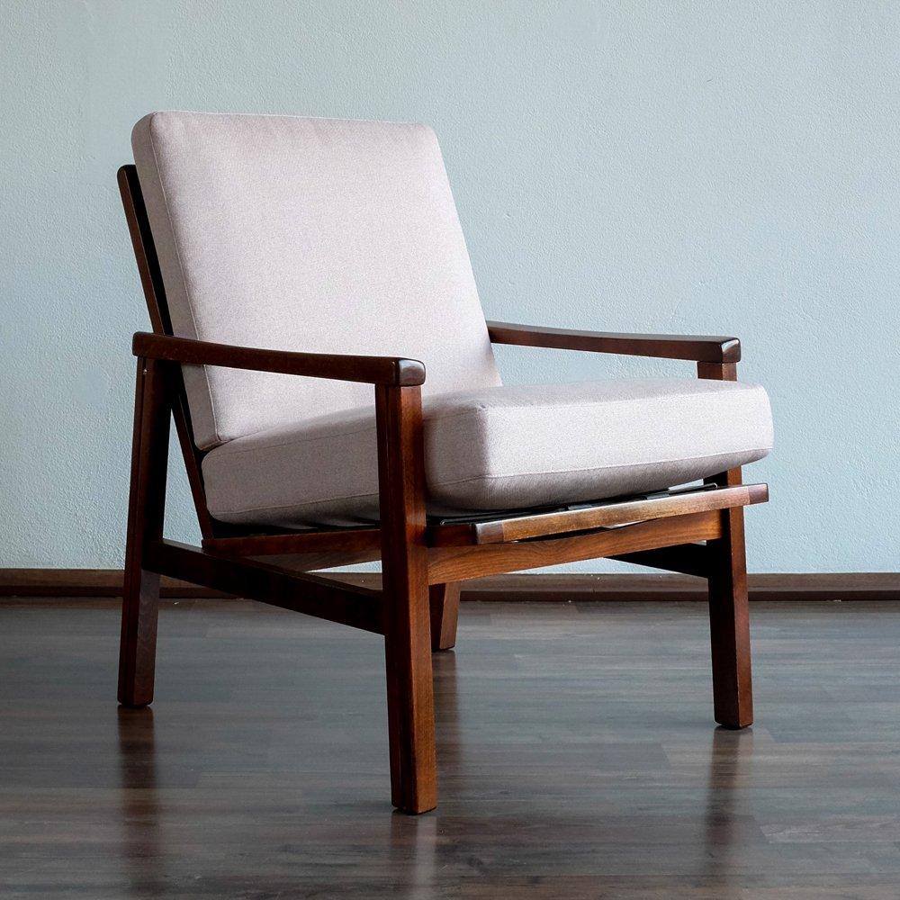 fauteuil vintage rose p le de ton r publique tch que 1960s en vente sur pamono. Black Bedroom Furniture Sets. Home Design Ideas