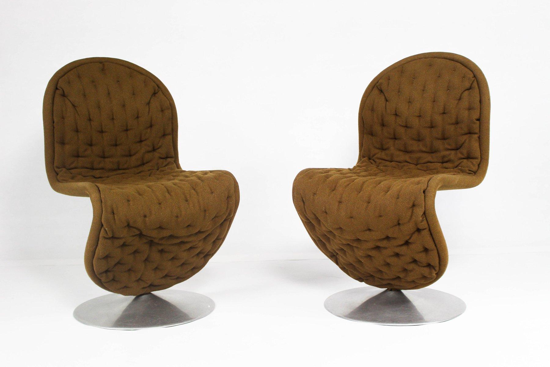 d nischer vintage 123 sessel von verner panton f r fritz hansen bei pamono kaufen. Black Bedroom Furniture Sets. Home Design Ideas