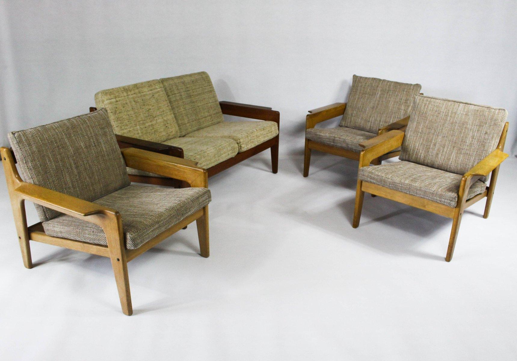 d nischer vintage sessel von arne wahl iversen f r komfort bei pamono kaufen. Black Bedroom Furniture Sets. Home Design Ideas