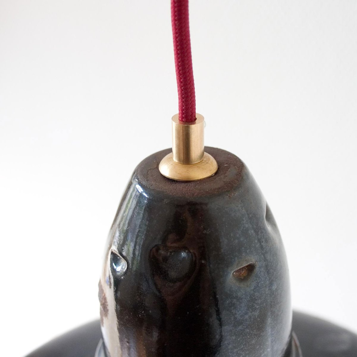 lampe suspension industrielle vintage noire emaill e france en vente sur pamono. Black Bedroom Furniture Sets. Home Design Ideas