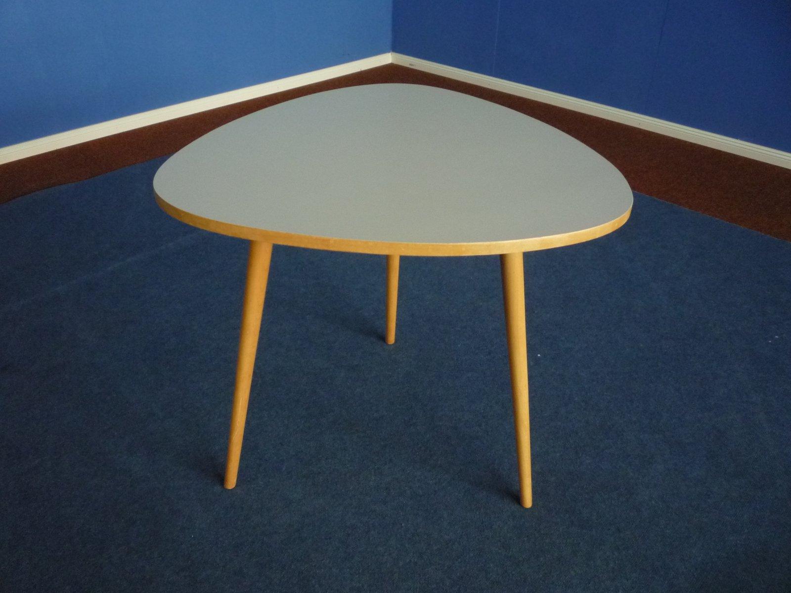 Mid-Century Tisch aus Formica & Buchenholz, 1950er