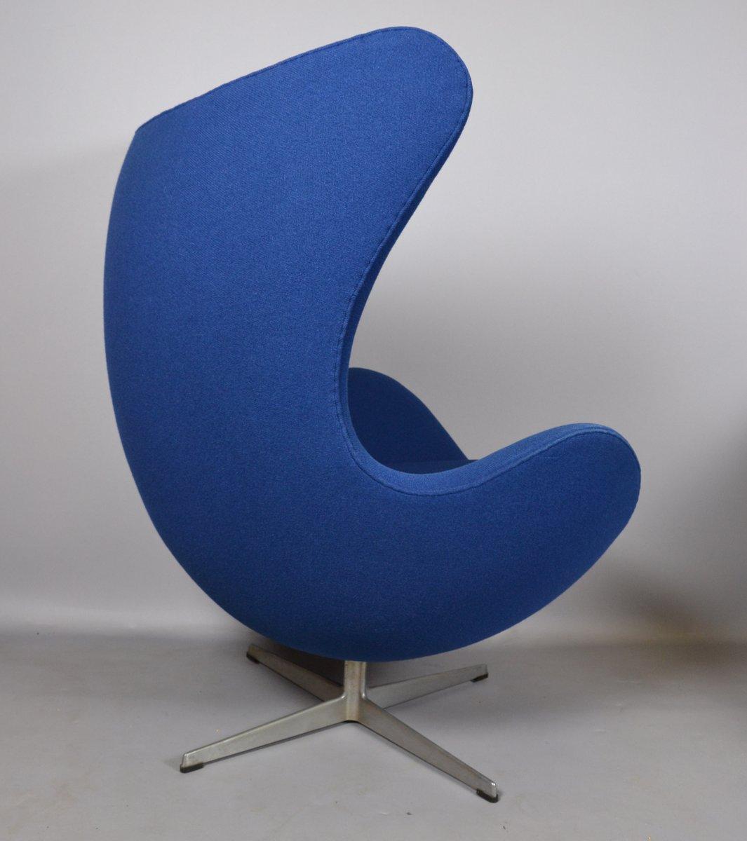 fabrik egg chair von arne jacobsen f r fritz hansen 1970er bei pamono kaufen. Black Bedroom Furniture Sets. Home Design Ideas