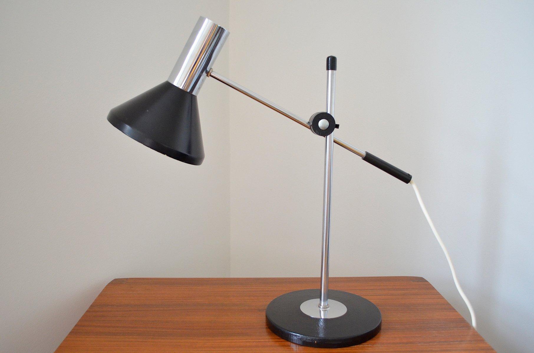 German Vintage Adjustable Desk Lamp, 1960s