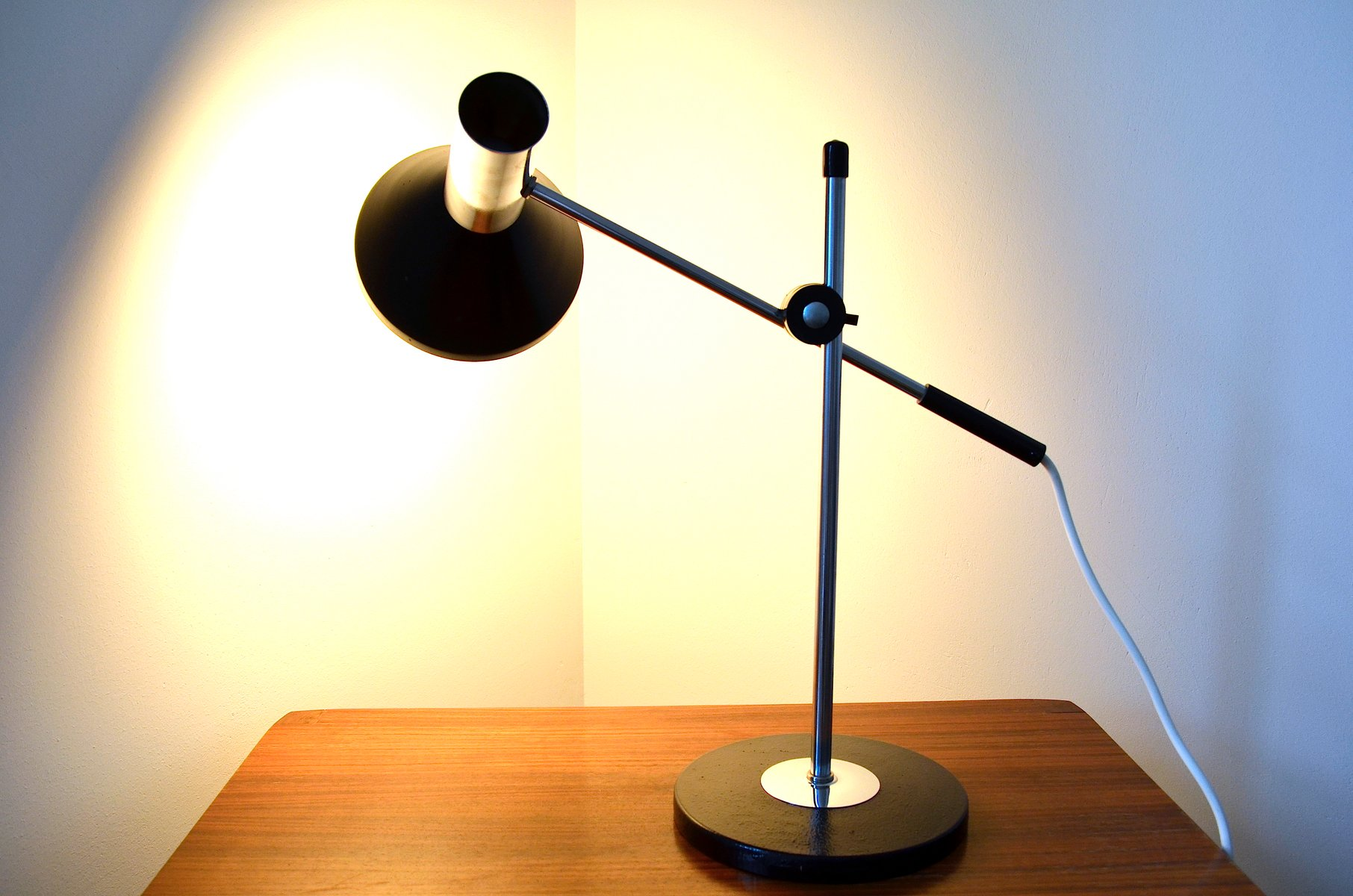 lampe de bureau vintage ajustable allemagne 1960s en. Black Bedroom Furniture Sets. Home Design Ideas