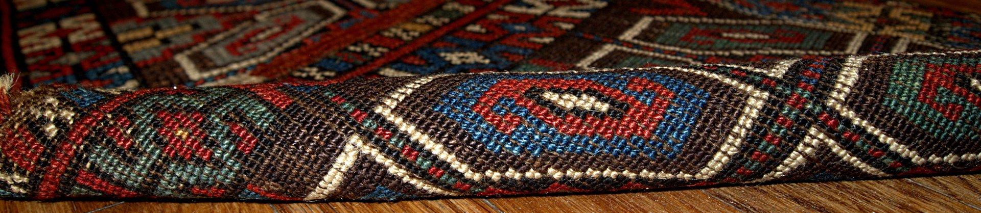 tapis antique yastik fait la main turquie 1880s en vente sur pamono. Black Bedroom Furniture Sets. Home Design Ideas