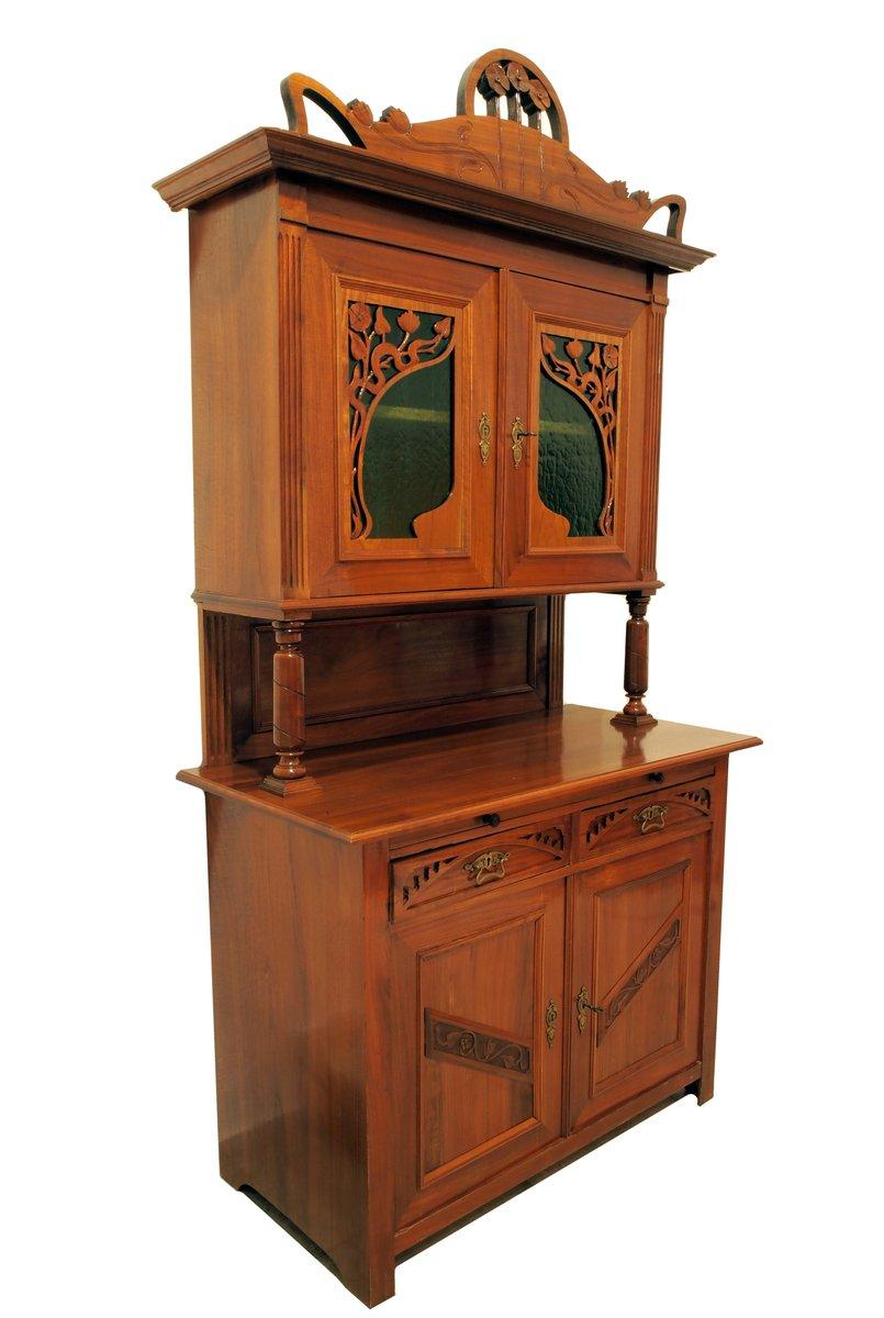 buffet antique art nouveau france en vente sur pamono. Black Bedroom Furniture Sets. Home Design Ideas