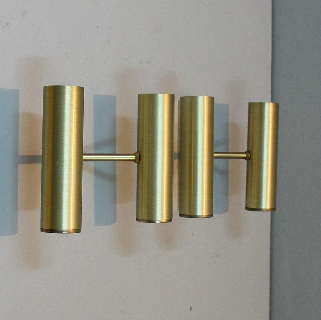 Lampade da parete italia anni 39 70 set di 3 in vendita su pamono - Lampade da parete di design ...