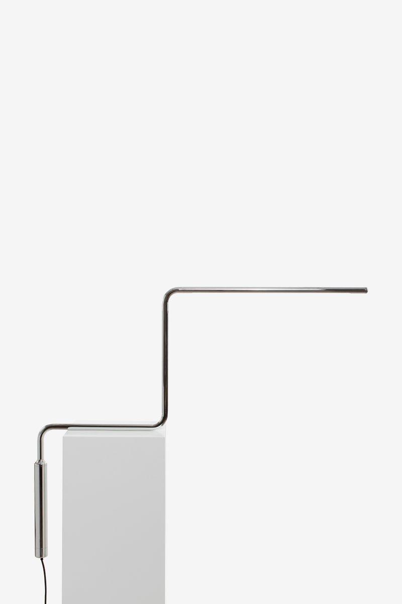 Balance Chrom Tischlampe von Nathalie Dewez, 2016
