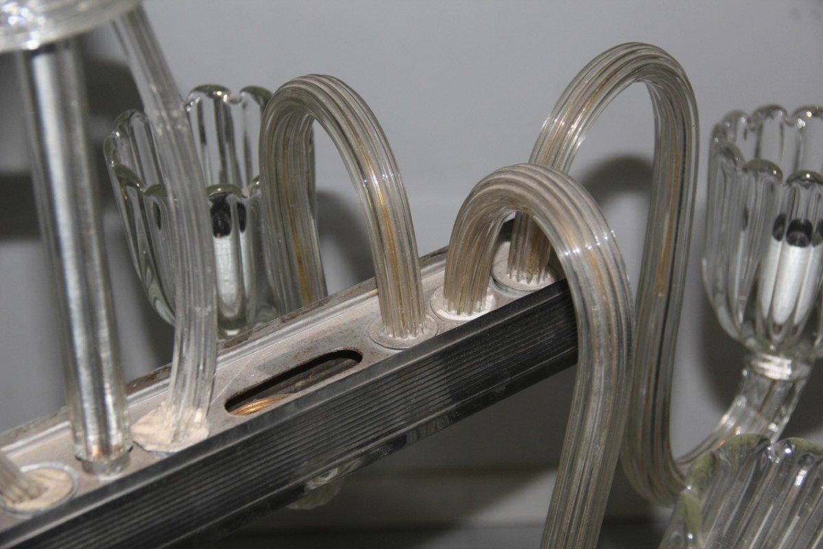 italienischer kronleuchter aus murano glas 1940er bei pamono kaufen. Black Bedroom Furniture Sets. Home Design Ideas