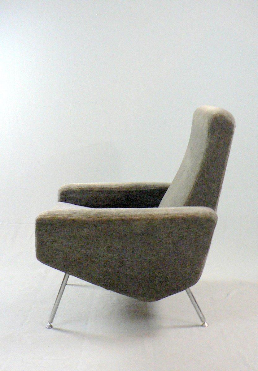 fauteuil troika par pierre guariche pour airborne 1950s en vente sur pamono. Black Bedroom Furniture Sets. Home Design Ideas