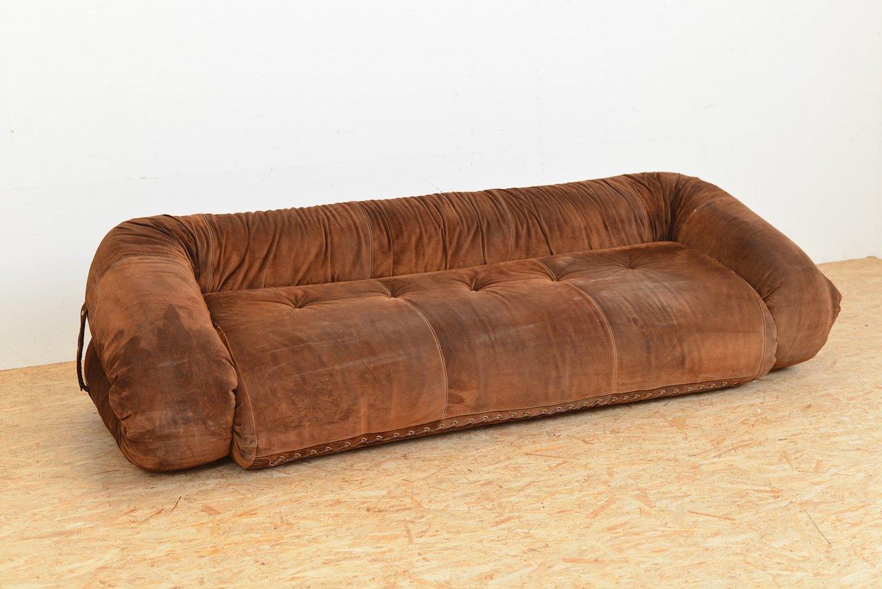 canap lit anfibio vintage par alessandro becchi pour giovanetti en vente sur pamono. Black Bedroom Furniture Sets. Home Design Ideas