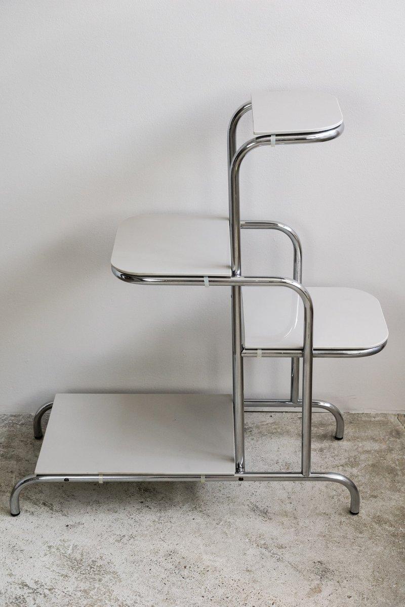 etag re tube tch que en acier 1930s en vente sur pamono. Black Bedroom Furniture Sets. Home Design Ideas
