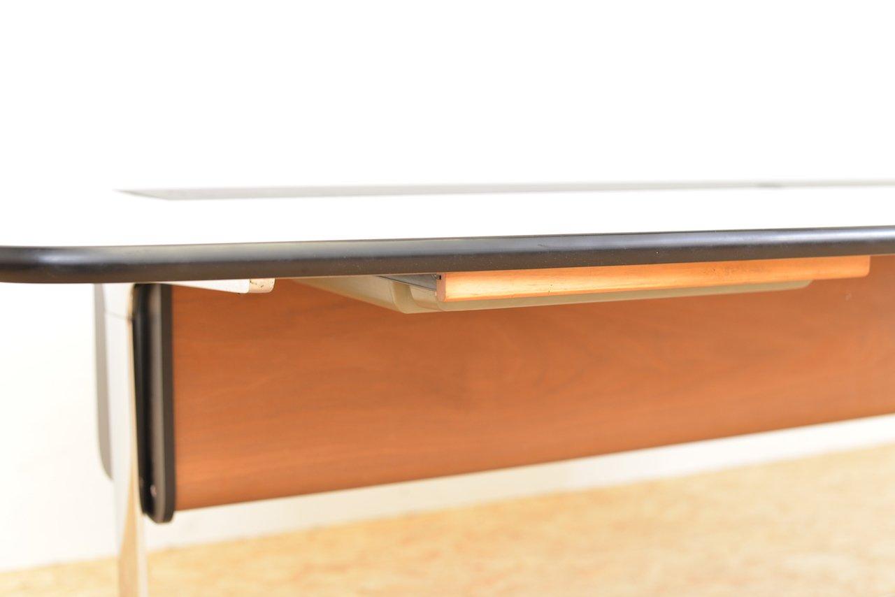 mid century action b ro schreibtisch von george nelson associates bei pamono kaufen. Black Bedroom Furniture Sets. Home Design Ideas