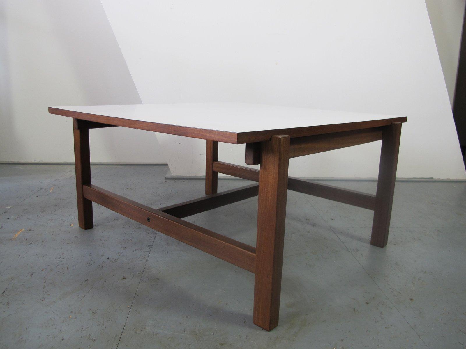 table basse vintage reversible en teck et formica de pastoe en vente sur pamono. Black Bedroom Furniture Sets. Home Design Ideas