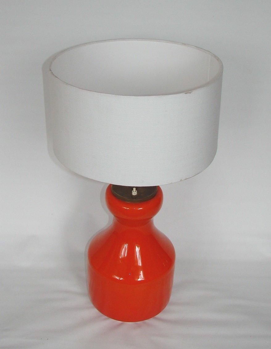 Moderne Glaslampe, 1970er