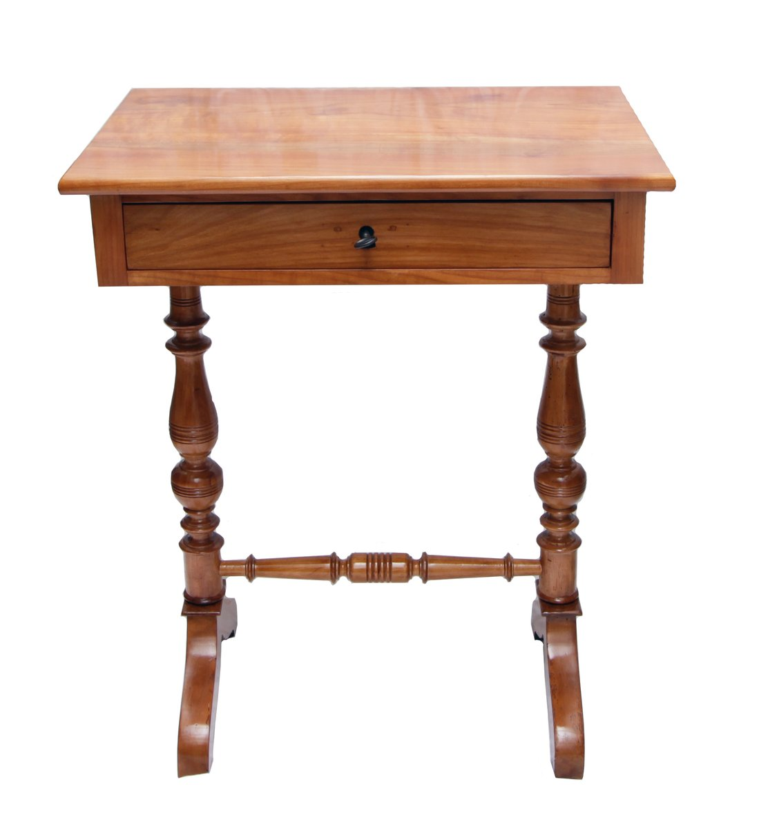 Antique Sewing Table in Cherry - Antique Sewing Table In Cherry For Sale At Pamono