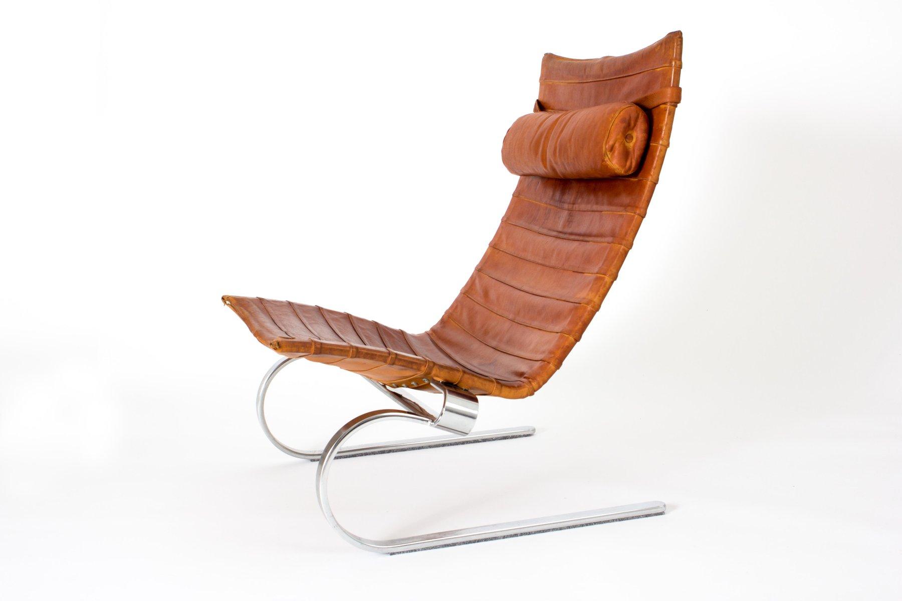 Dänischer Pk20 Sessel von Poul Kjaerholm für E. Kold Christensen, 1960...