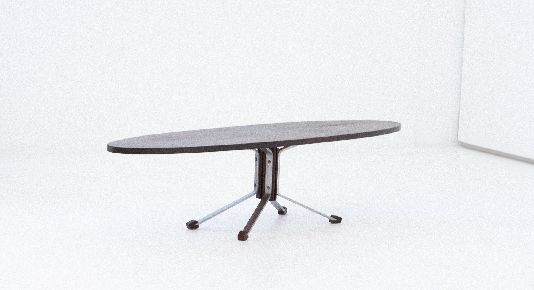 grande table ovale mid century italie1960s - Grande Table Ovale