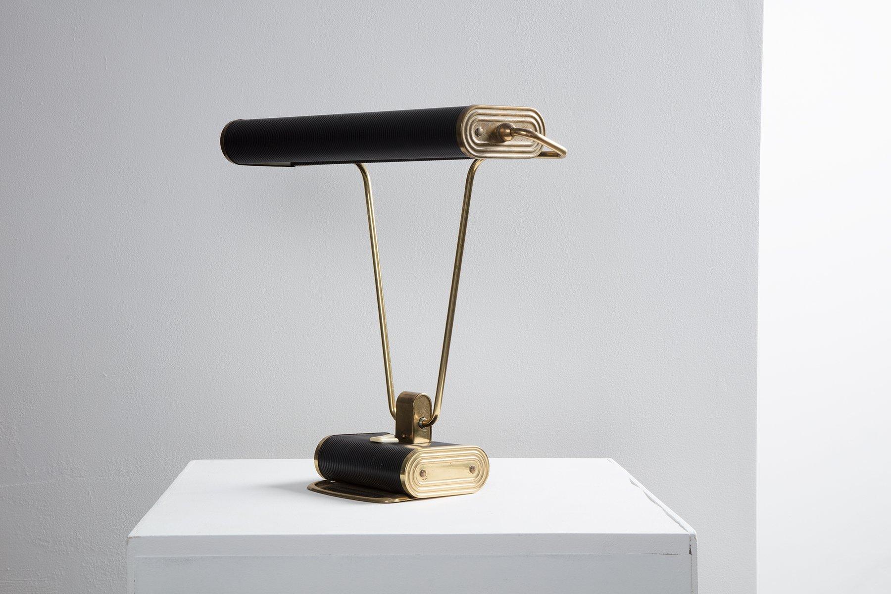 lampe de bureau n71 par eileen gray pour jumo 1940s en vente sur pamono. Black Bedroom Furniture Sets. Home Design Ideas