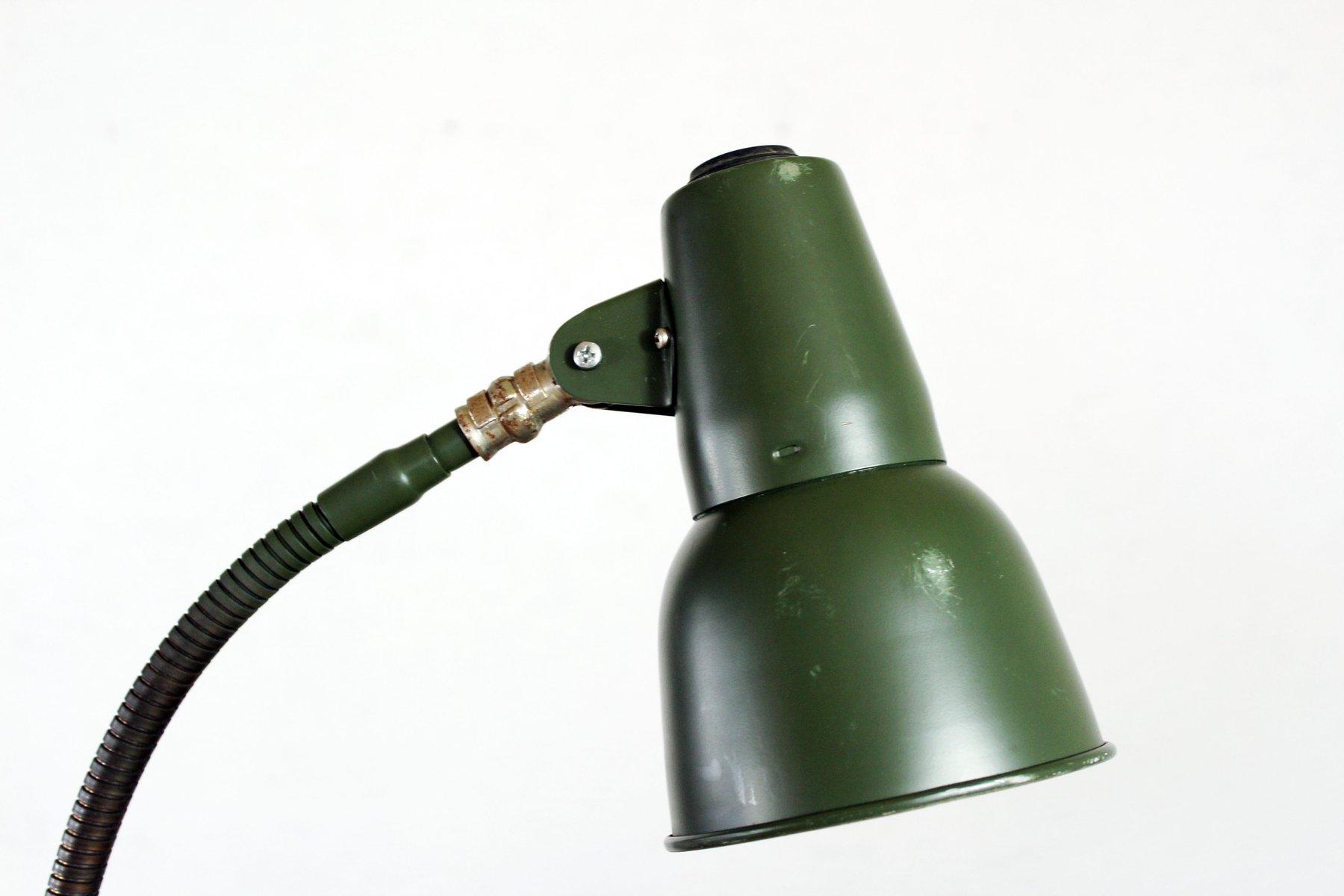 Lampada da tavolo vintage verde di sis in vendita su pamono for Lampada da tavolo verde