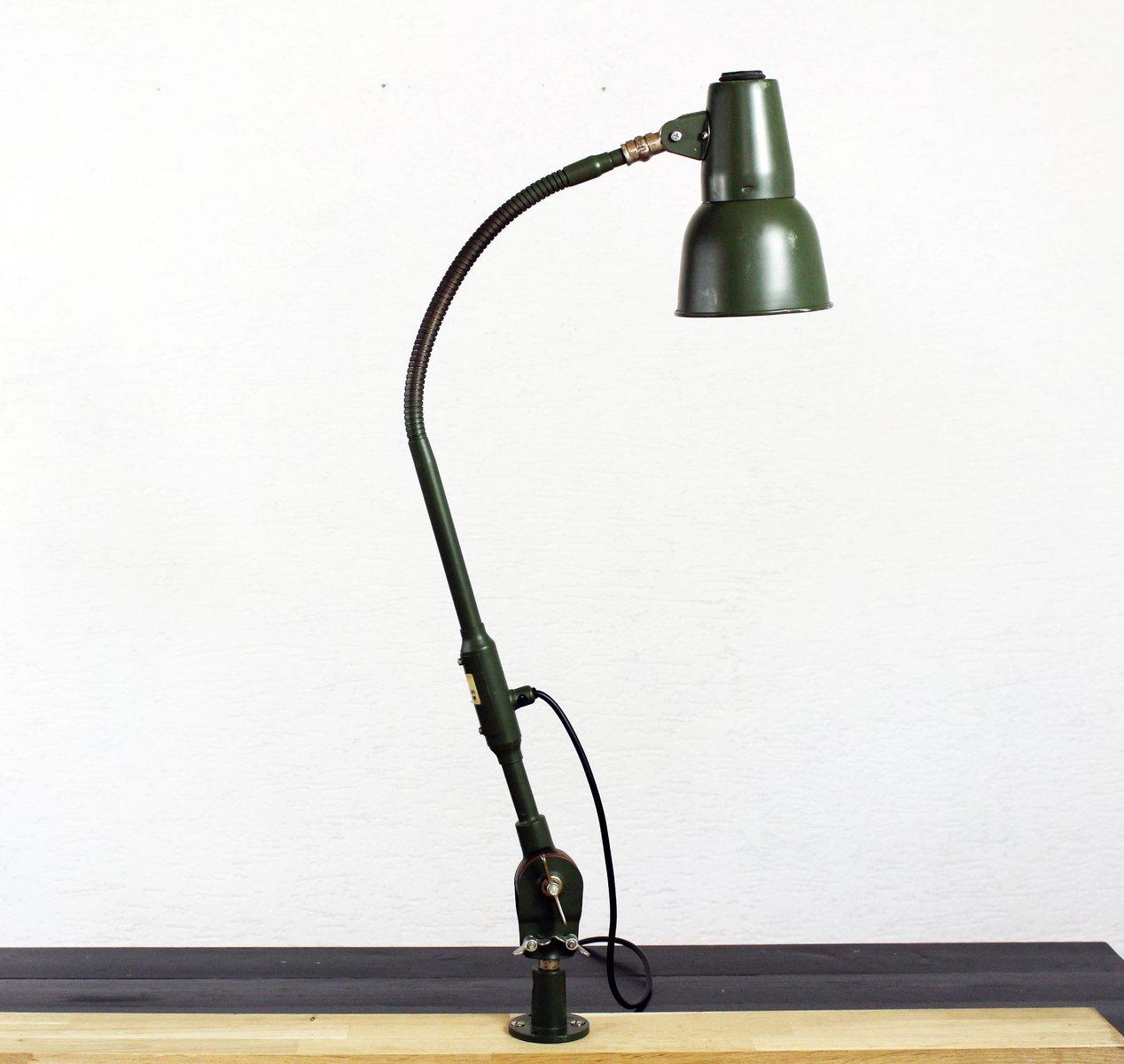 lampe de bureau vintage verte de sis en vente sur pamono. Black Bedroom Furniture Sets. Home Design Ideas