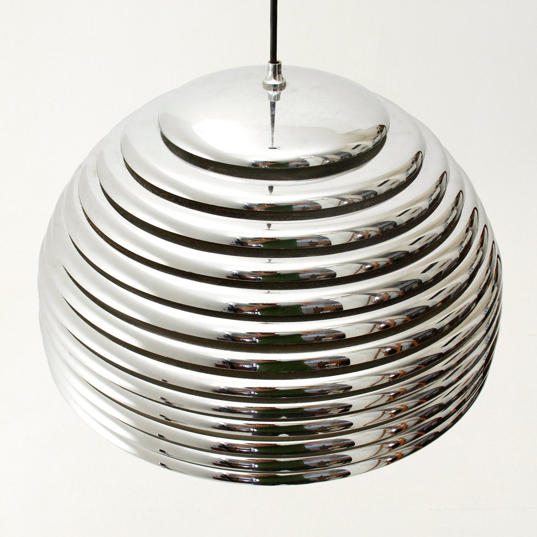 saturn h ngelampe von kazuo motozawa f r staff 1972 bei. Black Bedroom Furniture Sets. Home Design Ideas