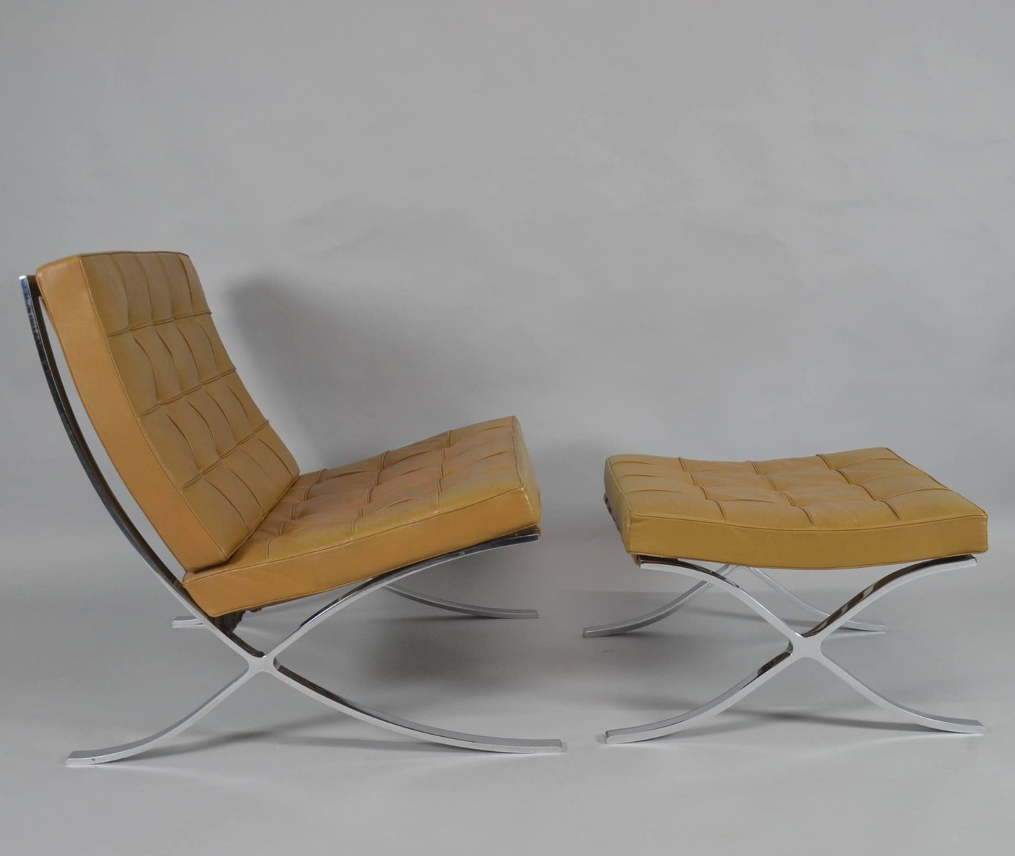 Image result for Barcelona chair
