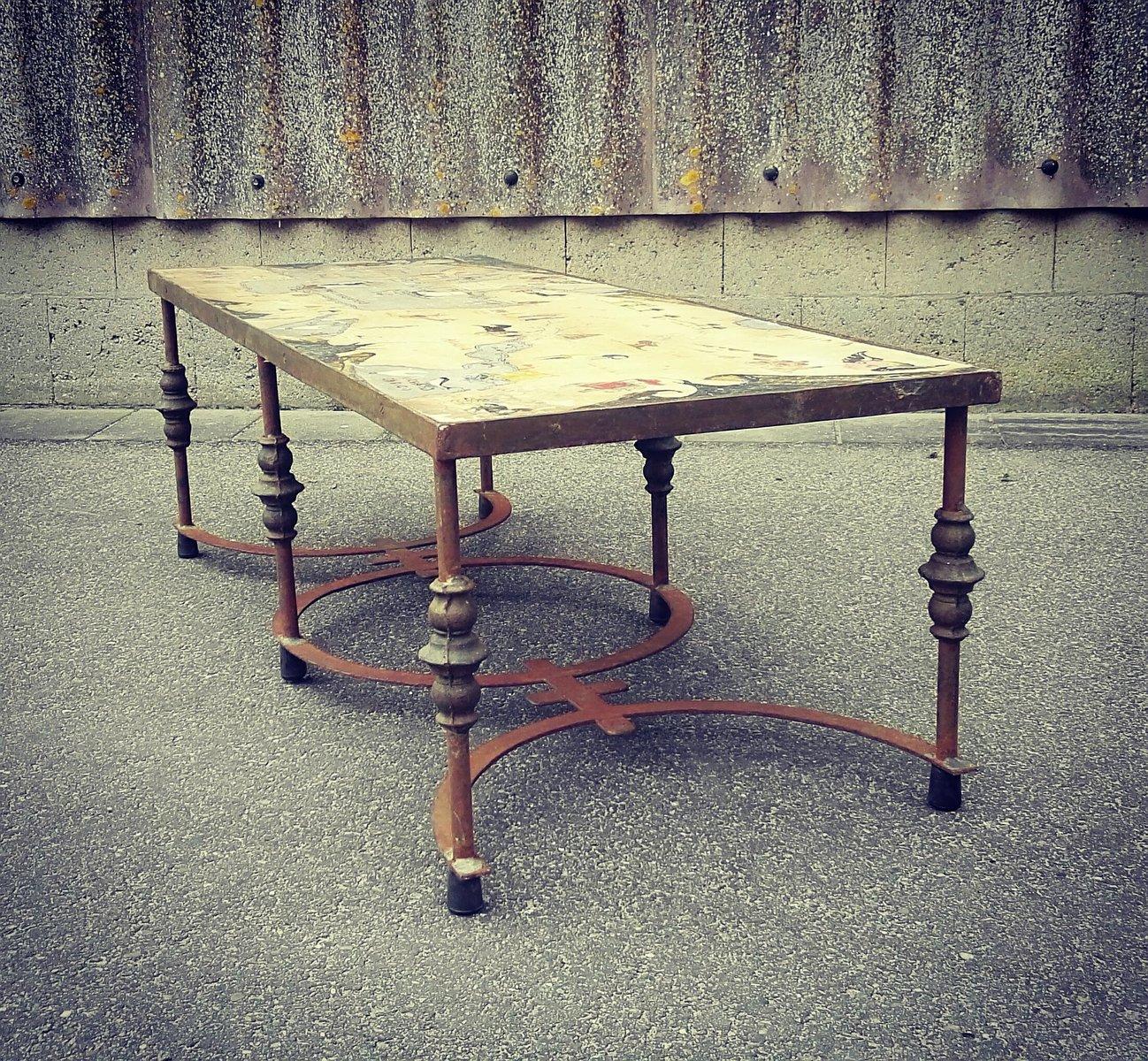 Vintage Gran Desierto Artisan Coffee Table