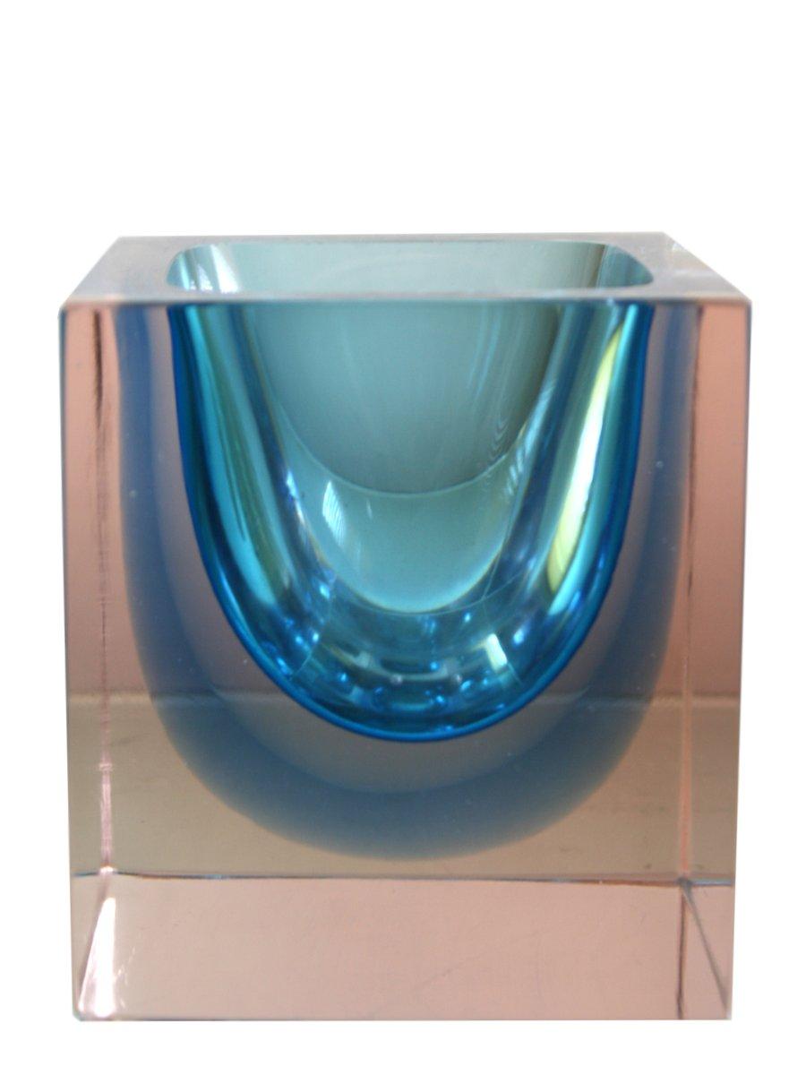 Vase aus Murano Glas von Alessandro Mandruzzato, 1960er bei Pamono ...
