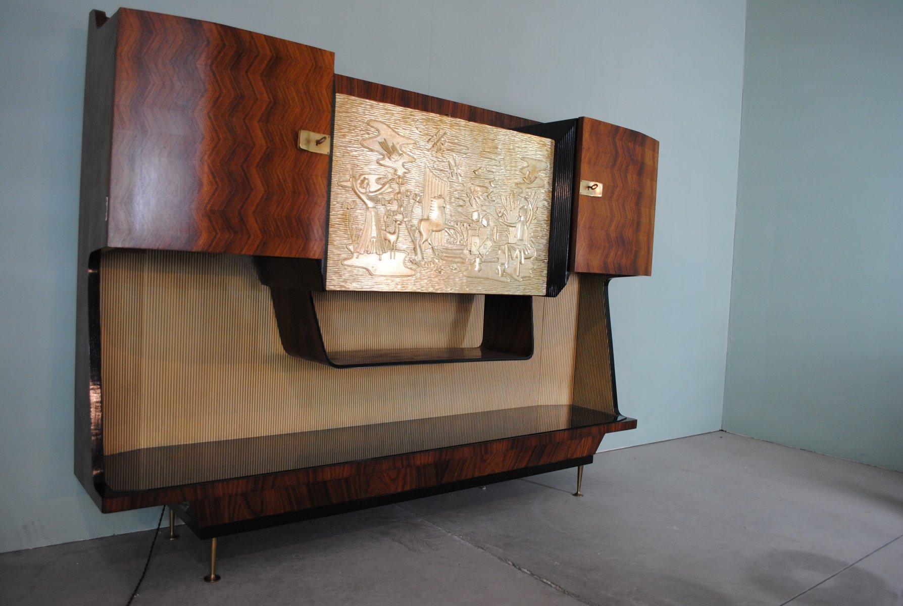 italienischer vintage barschrank von osvaldo borsani bei pamono kaufen. Black Bedroom Furniture Sets. Home Design Ideas