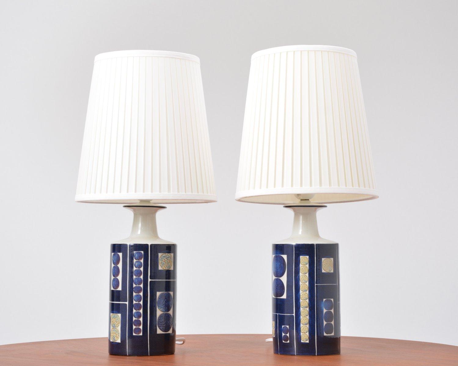 Dänische Vintage E 7169 Lampen von Inge-Lise Koefoed, 2er Set