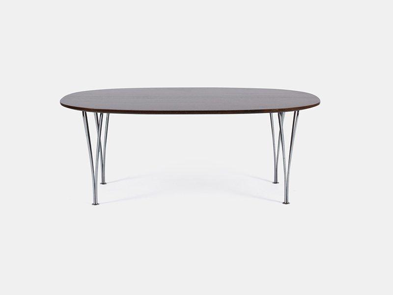 Vintage Super-Elliptical Tisch von Hein, Jacobsen & Mathsson für Fritz...
