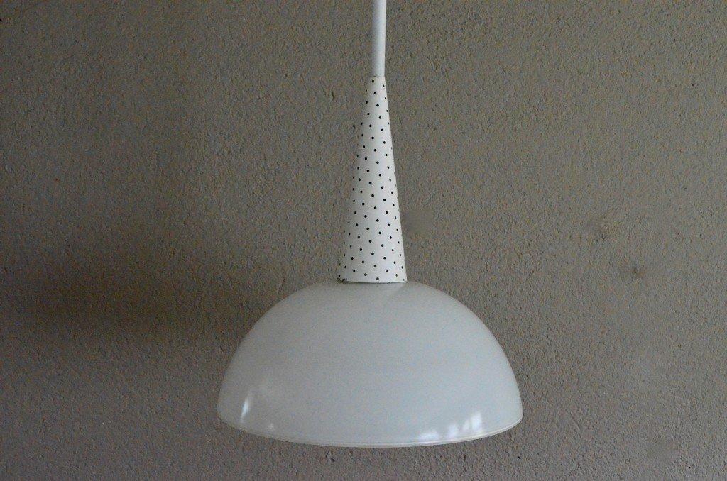 Vintage Deckenlampe von Holophane, 1950er