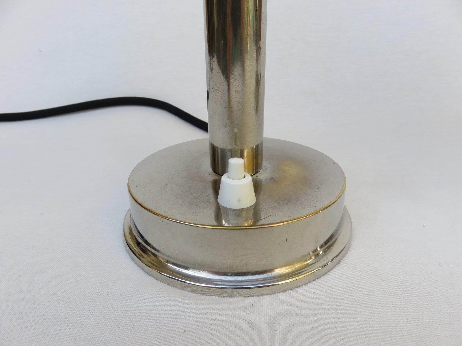 Kleine vintage art deco tischlampen von fm 2er set bei for Tischlampen vintage