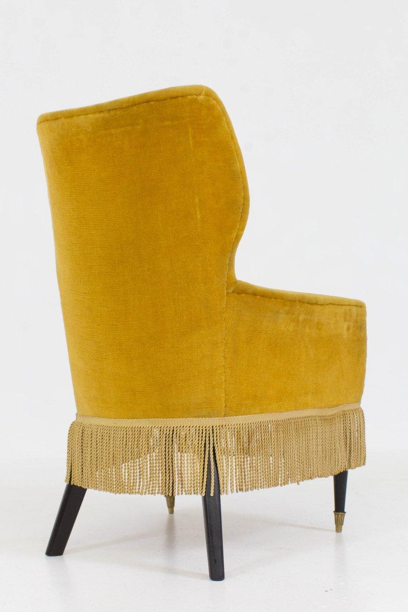 italienische damensessel von paolo buffa 1960er 2er set bei pamono kaufen. Black Bedroom Furniture Sets. Home Design Ideas