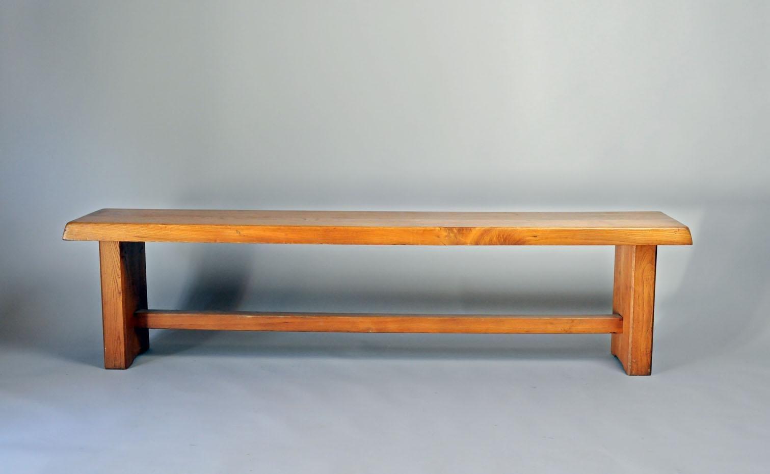 S14B Drei-Sitzer Bank von Pierre Chapo, 1960er