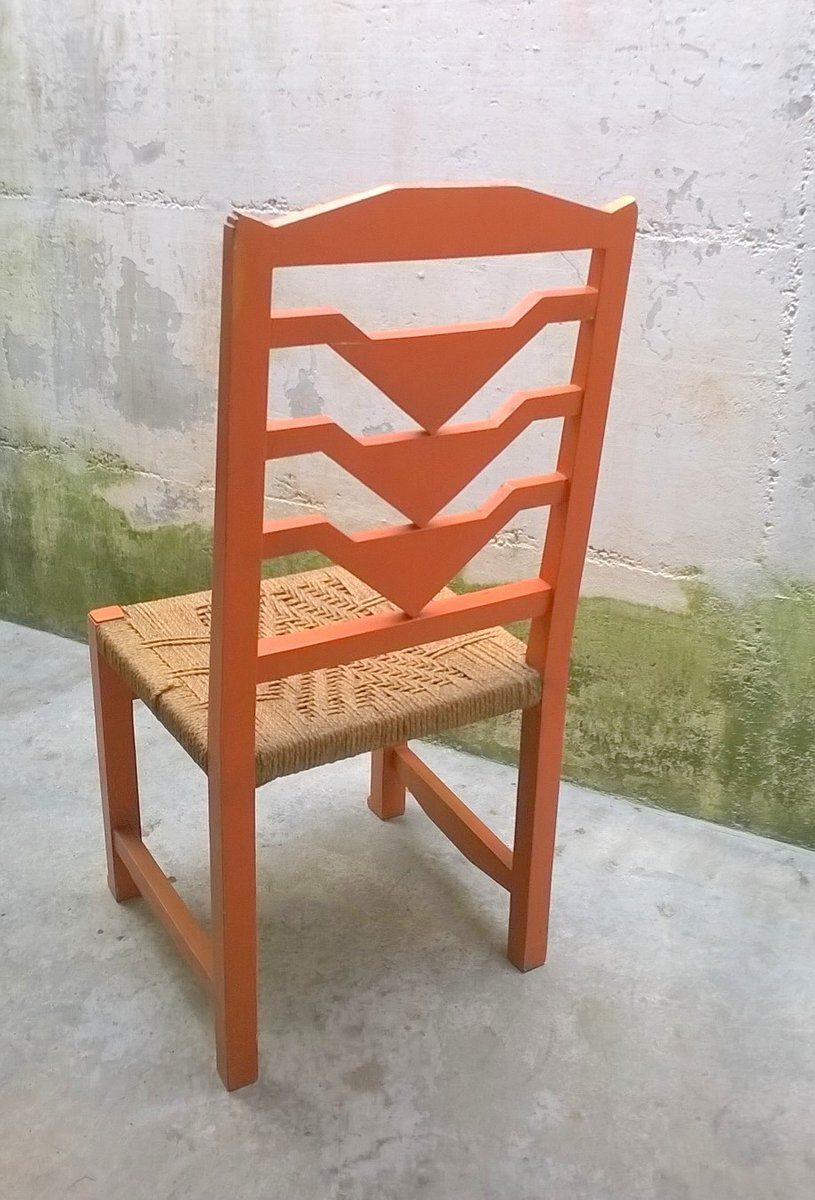 Chaise futuriste italie 1930s en vente sur pamono for Chaise 1930