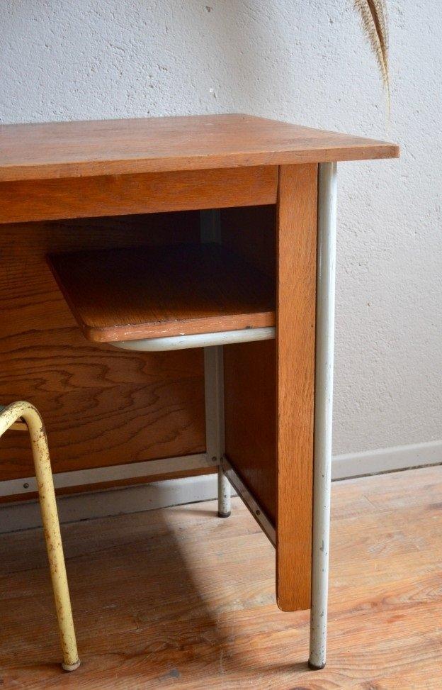 Bureau par jean prouv 1950s en vente sur pamono for Bureau jean prouve