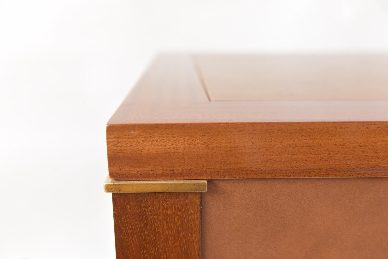 art deco schreibtisch von jacques quinet bei pamono kaufen. Black Bedroom Furniture Sets. Home Design Ideas