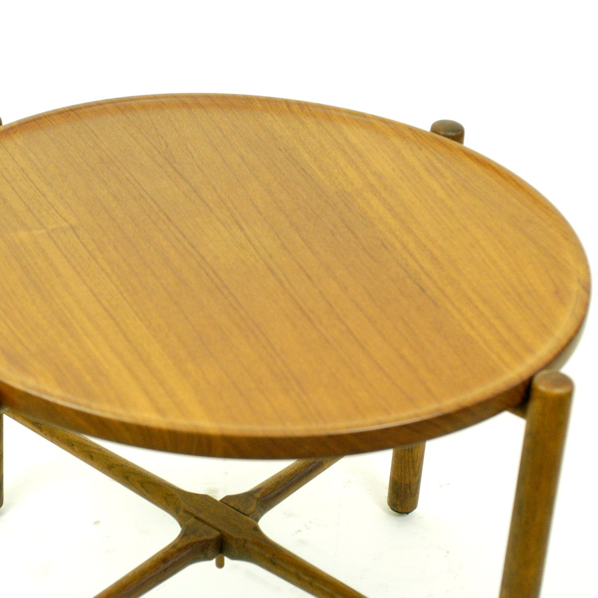 Old Teak Coffee Table: Vintage Danish Teak Coffee Table By Hans Wegner For